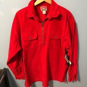 Marlboro Unlimted Corduroy Half Zip Jacket
